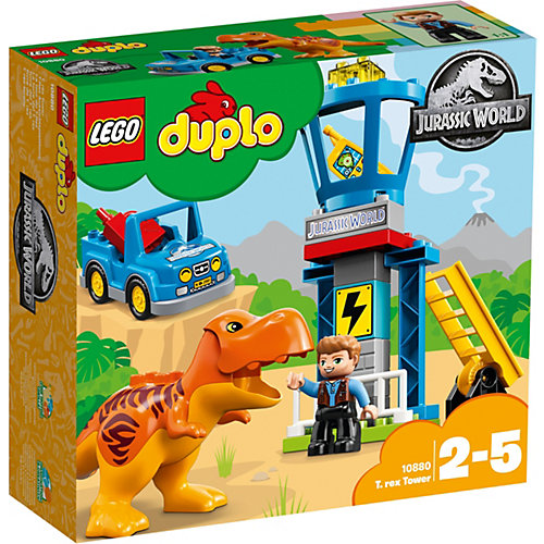 Конструктор LEGO DUPLO 10879: Башня Ти-Рекса от LEGO