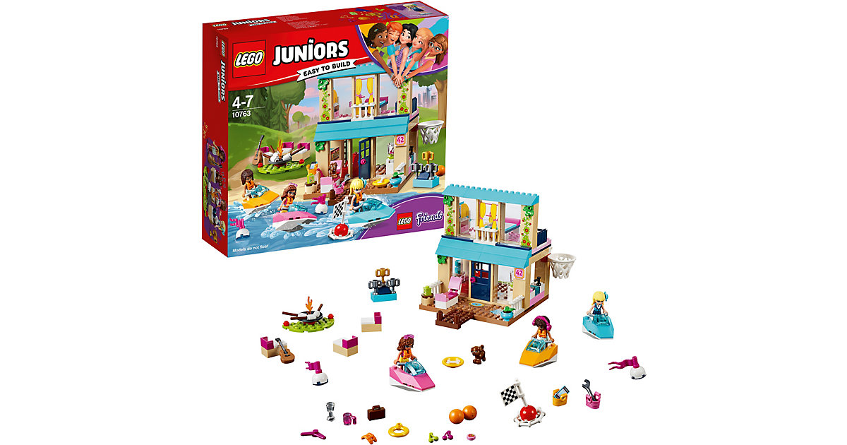 LEGO 10763 Juniors: Stephanies Haus am See