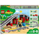 Конструктор LEGO DUPLO Town 10872: Железнодорожный мост