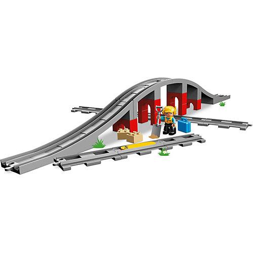 Конструктор LEGO Duplo Town 10872: Железнодорожный мост от LEGO