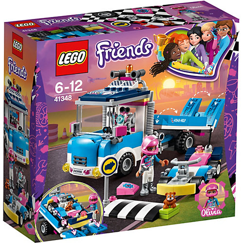 Конструктор LEGO Friends 41348: Грузовик техобслуживания от LEGO