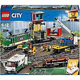 Конструктор LEGO City 60198: Товарный поезд