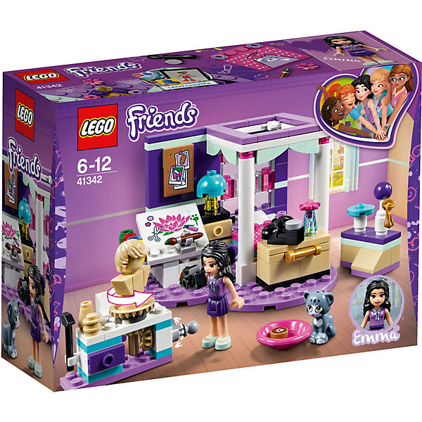 Конструктор LEGO Friends 41342: Комната Мии