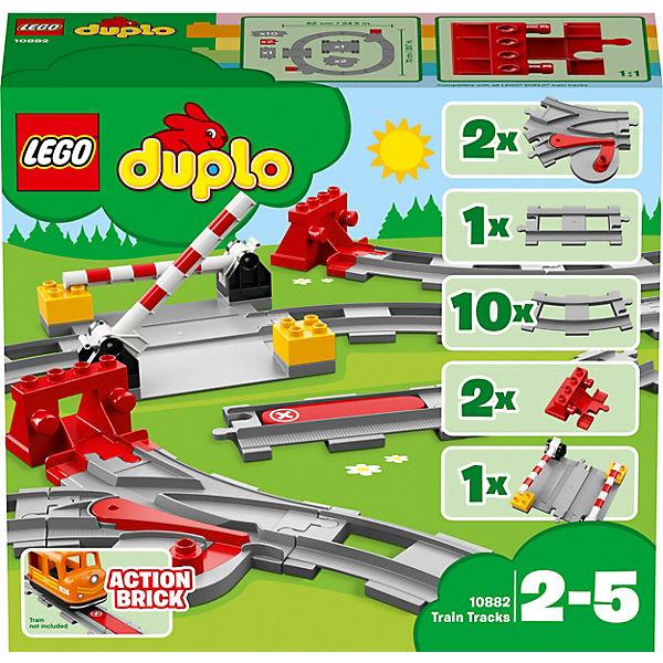 Конструктор LEGO DUPLO Town 10882: Рельсы