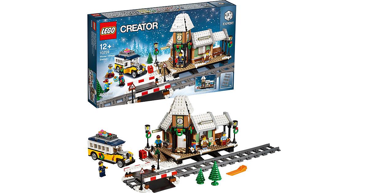 LEGO 10259 Creator: Winterlicher Bahnhof