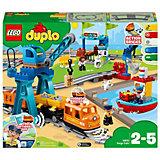 Конструктор LEGO DUPLO Town 10875: Грузовой поезд