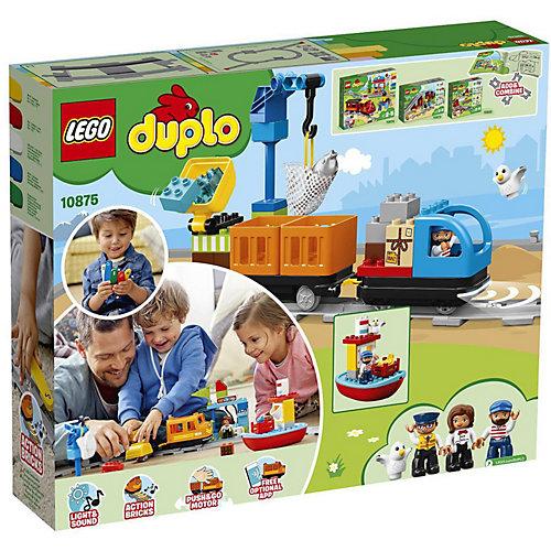 Конструктор LEGO DUPLO Town 10875: Грузовой поезд от LEGO