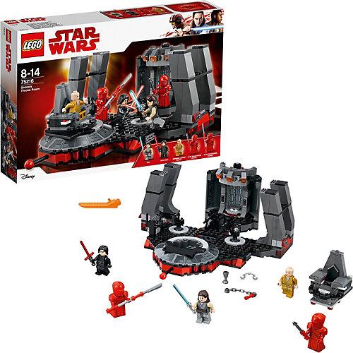 Конструктор LEGO Star Wars 75216: Тронный зал Сноука от LEGO