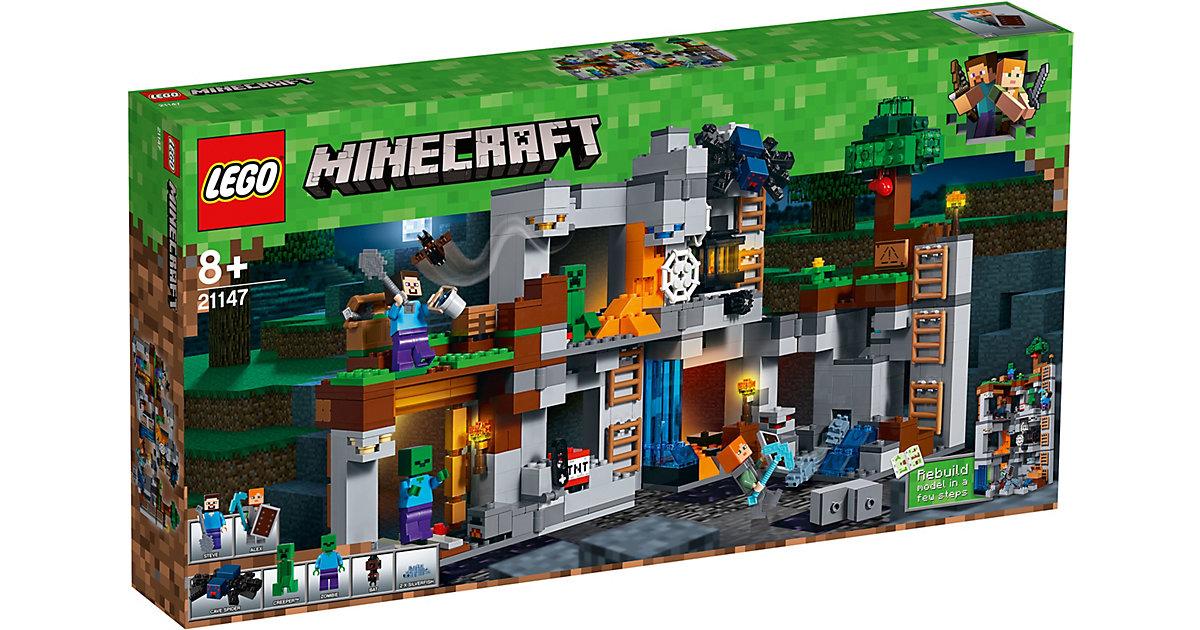 LEGO 21147 Minecraft: Abenteuer in den Felsen