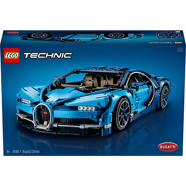 Lego 42083 Technic Bugatti Chiron Lego Technic Mytoys