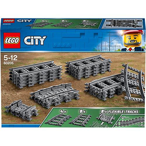 Конструктор LEGO City 60205: Рельсы от LEGO