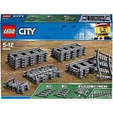 Конструктор LEGO City 60205: Рельсы