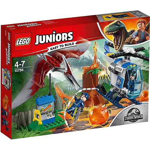 Конструктор LEGO Juniors Jurassic World 10879: Побег птеранодона от LEGO