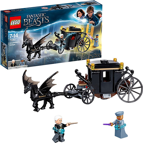Конструктор LEGO Harry Potter 75951: Побег Грин-де-Вальда
