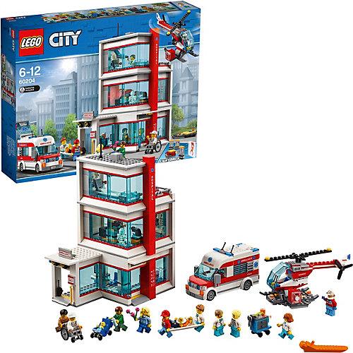 Конструктор LEGO City Town 60204: Городская больница от LEGO