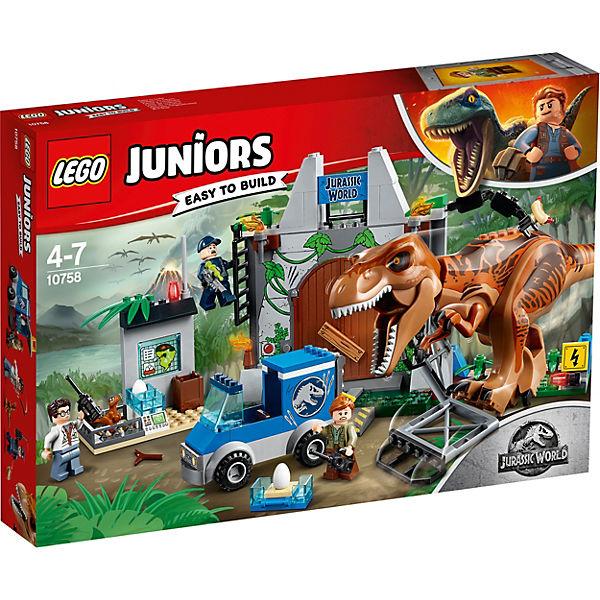 Конструктор LEGO Juniors 10758: Побег Ти-Рекса
