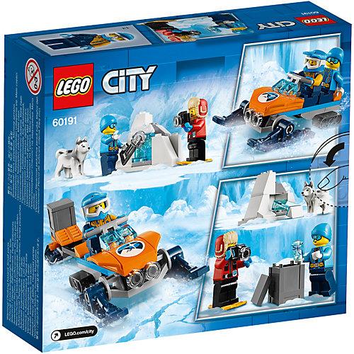 Конструктор LEGO City Arctic Expedition 60191: Полярные исследователи от LEGO