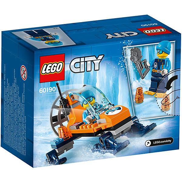 Конструктор LEGO City Arctic Expedition 60190: Аэросани
