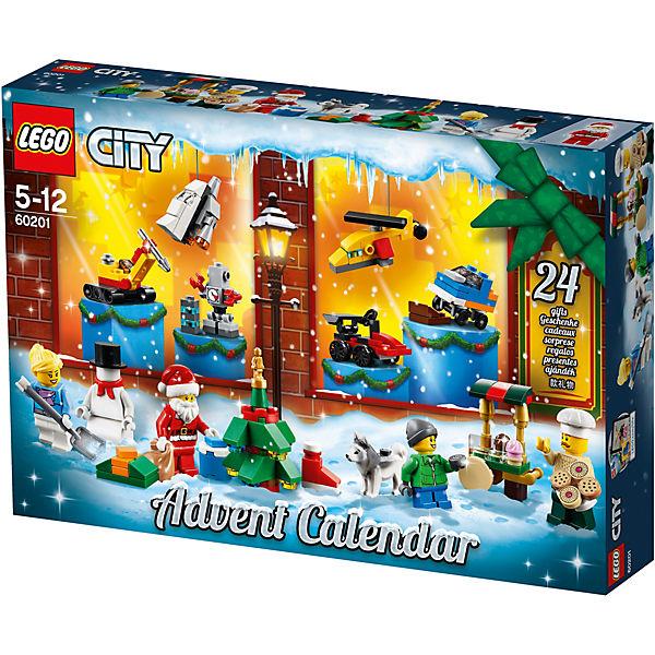 Lego 60201 City Adventskalender Lego City Mytoys