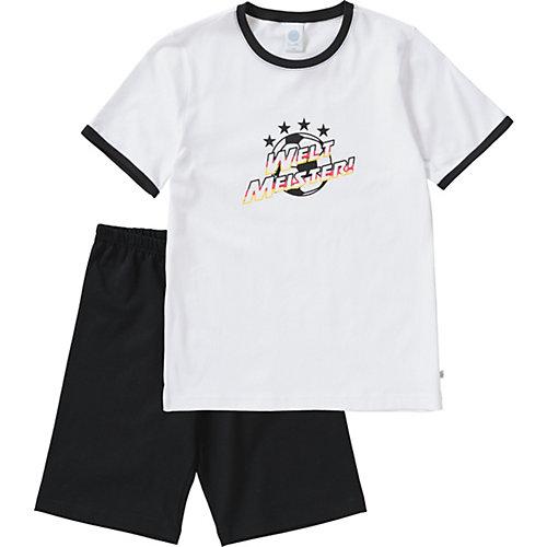 Sanetta Schlafanzug , Fußball Gr. 116 Jungen Kinder | 04055502764222