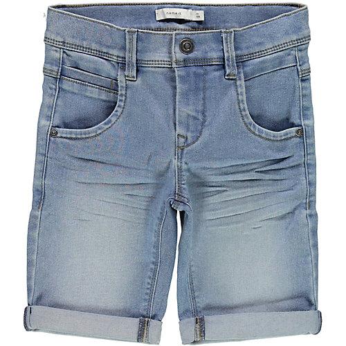 NAME IT Jeansshorts NKMSOFUS , lang geschnitten Gr. 164 Jungen Kinder | 05713721043243