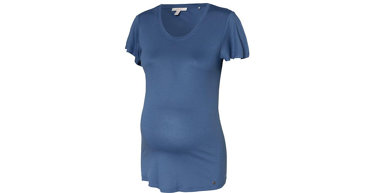 Umstandsshirt blau Gr. 34 Damen Kinder