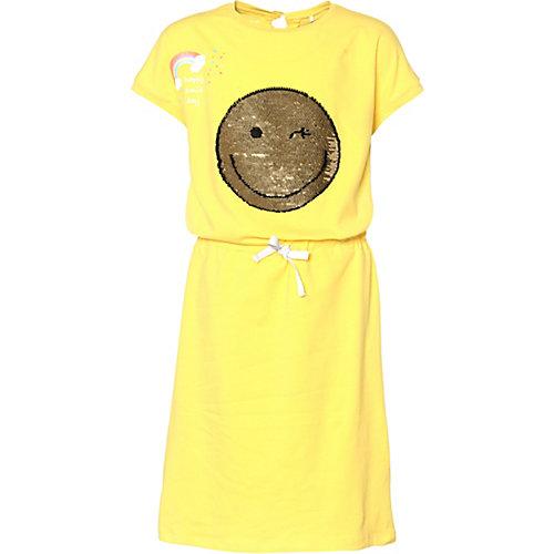 NAME IT Kinder Jerseykleid NKFHAPPY mit Wendepailletten Gr. 134 Mädchen Kinder | 05713746325966