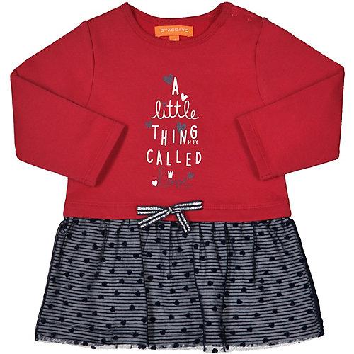 Baby Sweatkleid mit Tüllrock Gr. 86 Mädchen Kleinkinder | 04060836421710