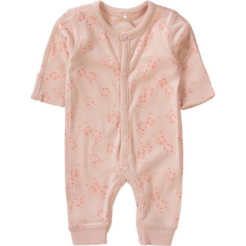 NAME IT Strampler NBNWONDERGA für Frühgeborene Gr. 44 Mädchen Baby | 05713728031649