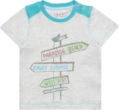 ESPRIT KIDS Baby-Jungen T-Shirt Ls Langarmshirt