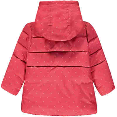 Baby Winterjacke mit Kapuze für Mädchen Baby Winterjacke mit Kapuze für  Mädchen 2 e18438f196