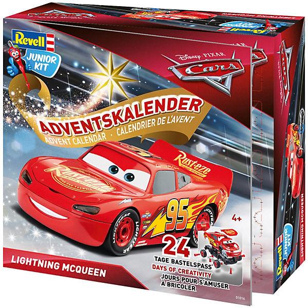 Cars Weihnachtskalender.Junior Kit Adventskalender Lightning Mcqueen Disney Cars