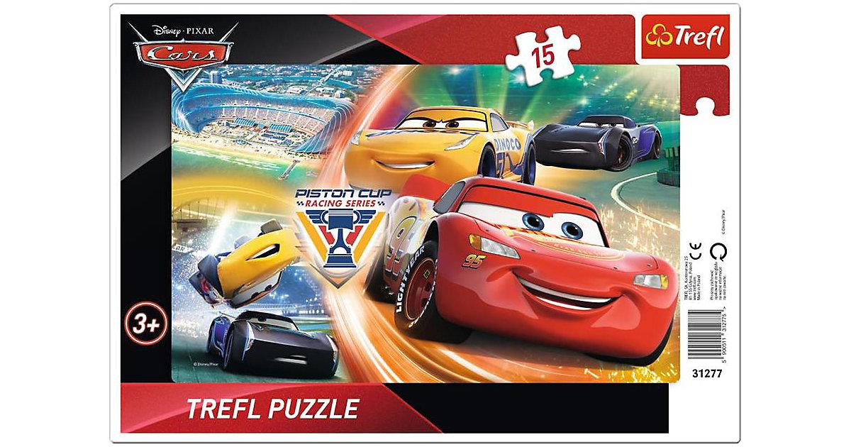 Rahmenpuzzle - Cars (15 Teile)