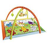 Развивающий коврик Жирафики  «Жирафик и друзья» с ростомером