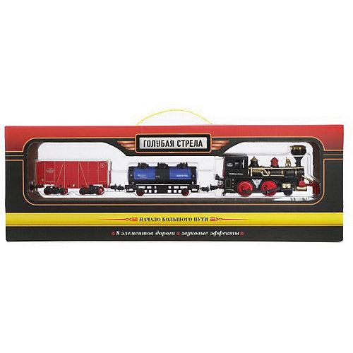 """Железная дорога Голубая стрела """"Товарный поезд"""", 240 см от Голубая стрела"""