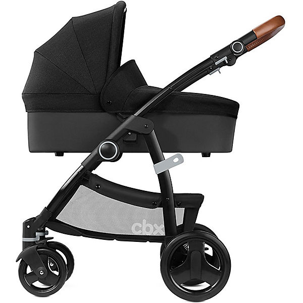 CBX Kombi Kinderwagen Leotie Lux Leather, Smoky Anthracite, 2018