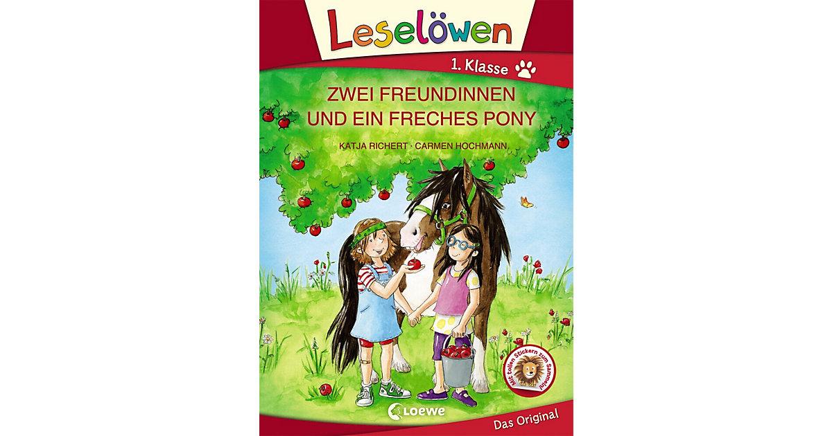 Zwei Freundinnen und ein freches Pony