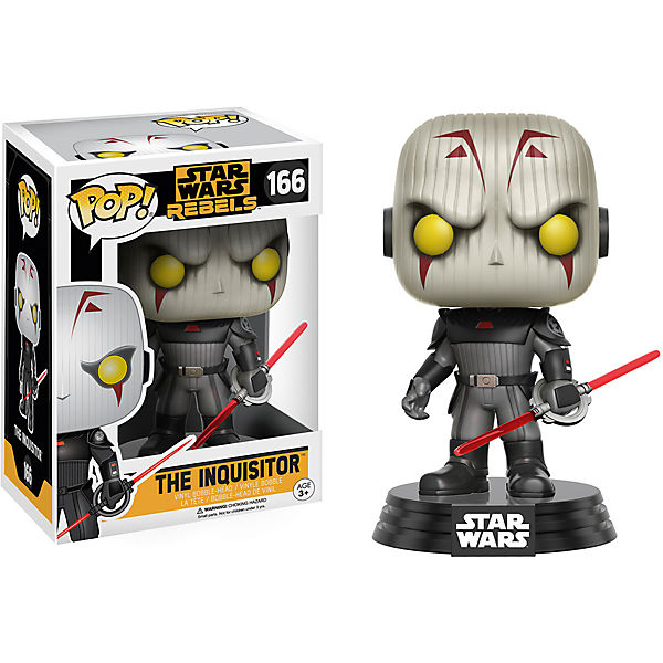 Funko POP! STAR WARS Sammelfigur: Rebels The Inquisitor