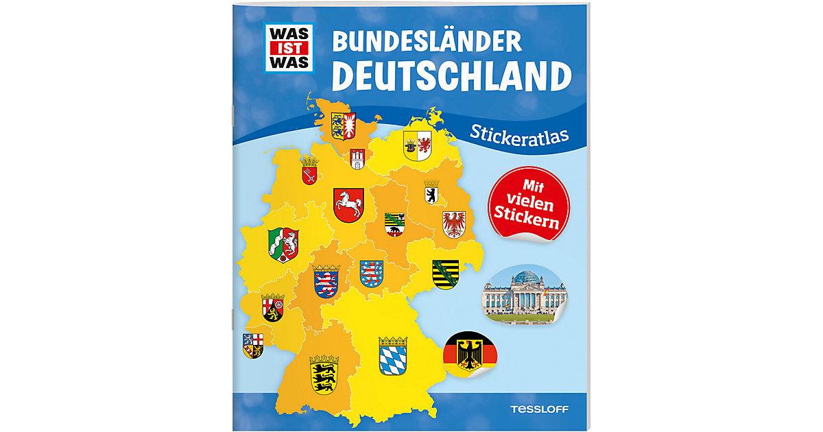WAS IST WAS: Bundesländer Deutschland, Stickera...