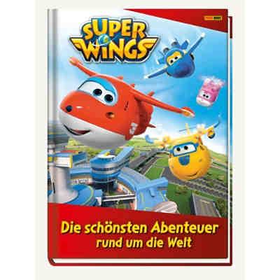 Wende Kinderbettwäsche Super Wings Renforcé 135 X 200 Cm Super