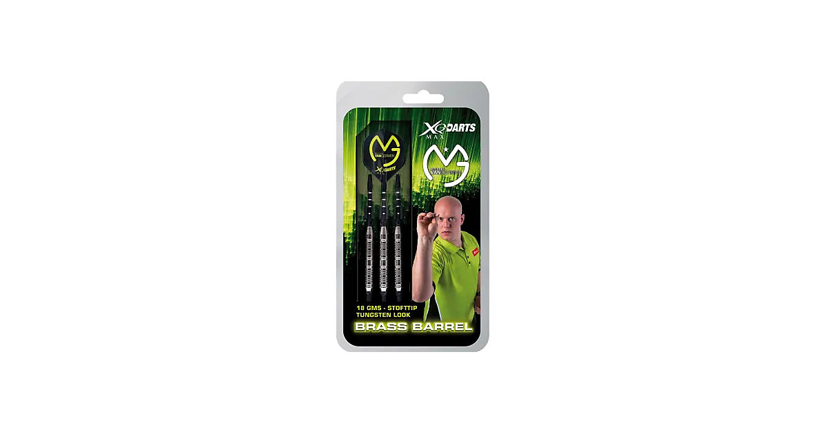 Brass Soft-Darts Tungsten Look Pfeile Michael v...