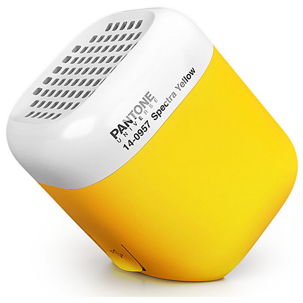 "Micro Bluetooth Speaker ""Spectra Yellow"" by  KAKKOii"