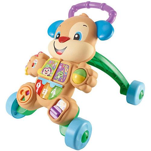 Разивающие ходунки-каталка Fisher-Price Учёный щенок от Mattel