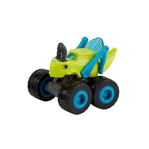 """Маленькая машинка Fisher-Price """"Вспыш и чудо-машинки"""" Грузовик-кузнечик от Mattel"""