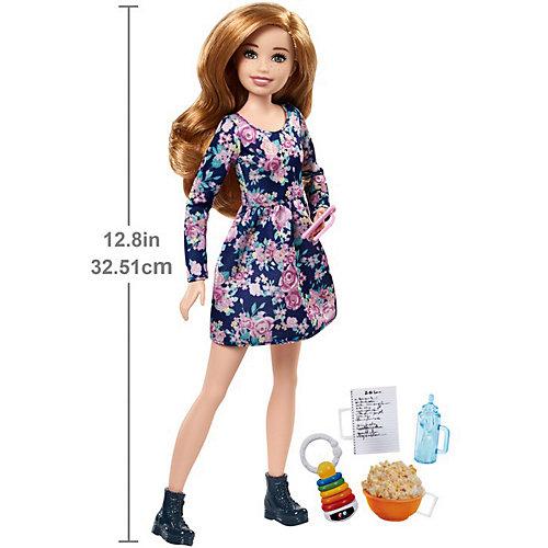 """Кукла Barbie """"Няни"""" Кукла с аксессуарами и попкорном от Mattel"""