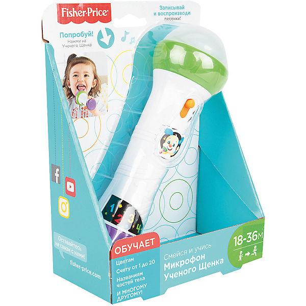 """Интерактивная игрушка Fisher-Price """"Смейся и учись"""" Микрофон Учёного щенка"""