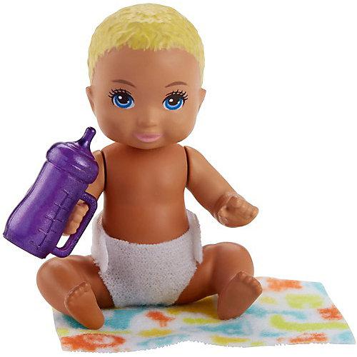 "Мини-кукла Barbie ""Ребенок"" со светлыми волосами от Mattel"