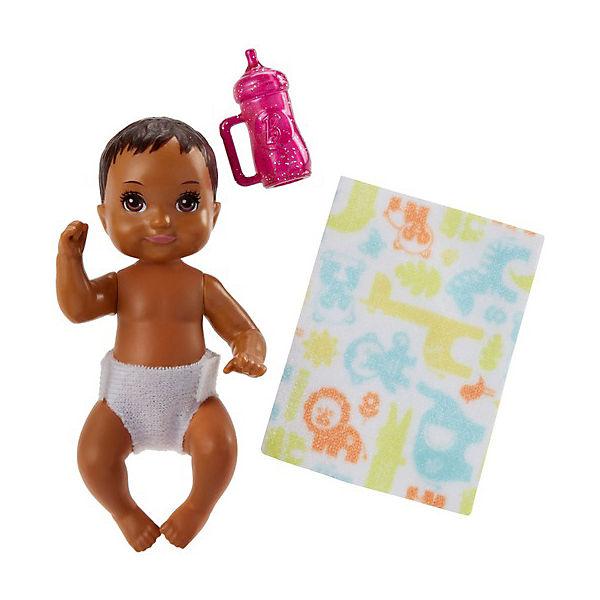 "Мини-кукла Barbie ""Ребенок"" с тёмными волосами"