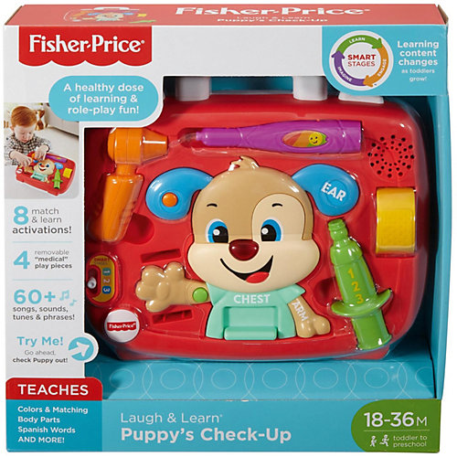 Интерактивная игрушка Fisher-Price Медицинский набор Ученого Щенка от Mattel