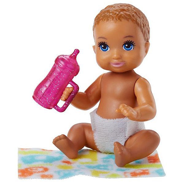 "Мини-кукла Barbie ""Ребенок"" с рыжими волосами"